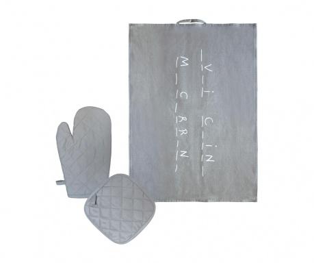 3-dijelni kuhinjski tekstilni set Bistros