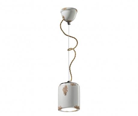 Závěsná lampa Try White