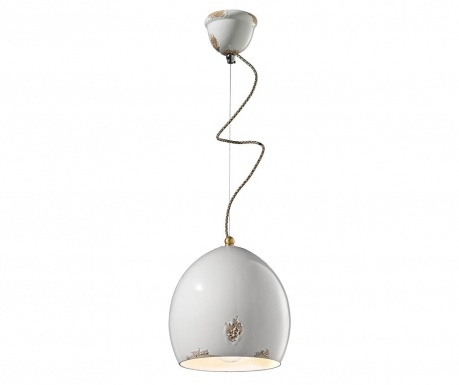Lampa sufitowa Painted White