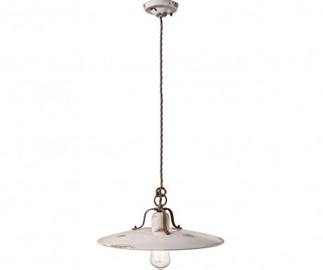 Závěsná lampa Grunge White