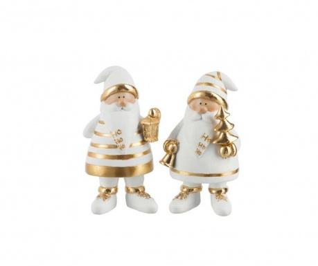 Комплект 2 декорации Santa Claus
