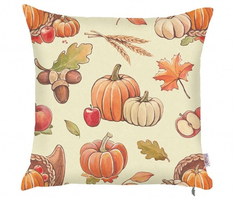 Prevleka za blazino Pumpkin Orange 43x43 cm