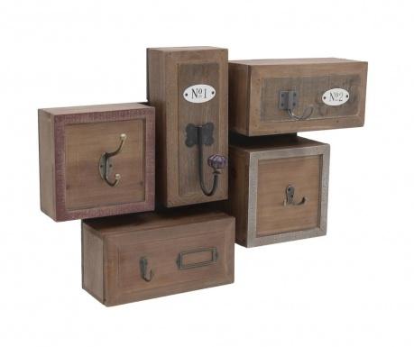 Закачалка с чекмеджета Antique Brown Beige