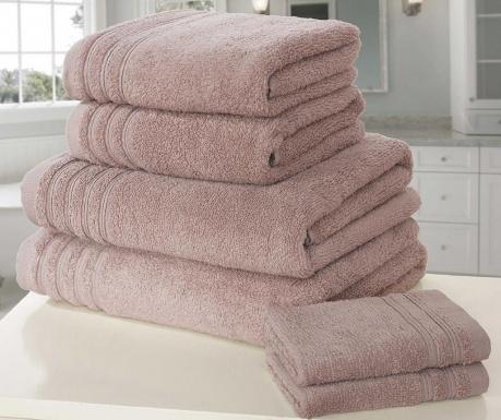 So Soft Dusky Pink 6 db Fürdőszobai törölköző