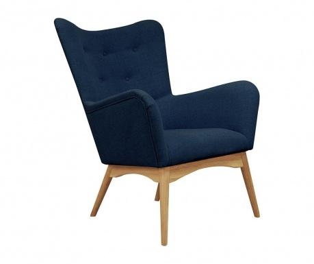 Fotel Karl Blue