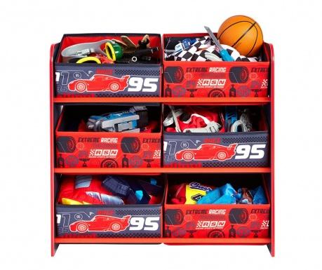 Шкафче с 6 коша Cars FCP