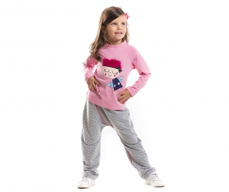 Set bluza si pantaloni Crazy Fairy