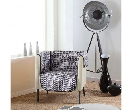 Ватиран калъф за фотьойл Kiria Black 165x179 см