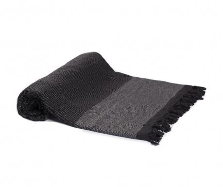 Koc Hadden Black Dark Grey 200x240 cm