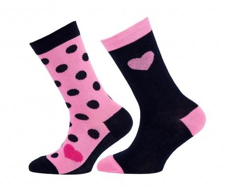 Set 2 para čarapa Hearts Point