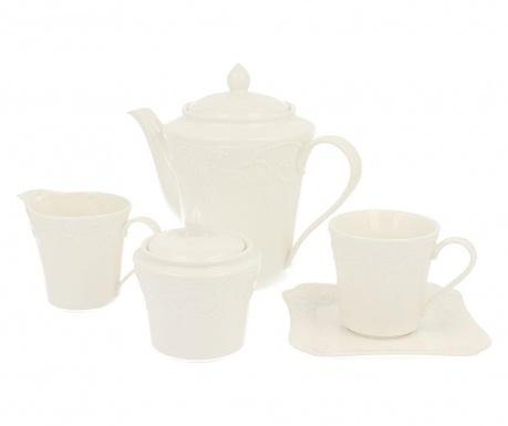Piętnastoczęściowy zestaw do herbaty Ariel
