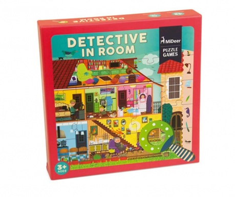 Puzzle 42 elementy Room Detective Pro