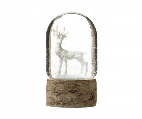 Decoratiune White Reindeer