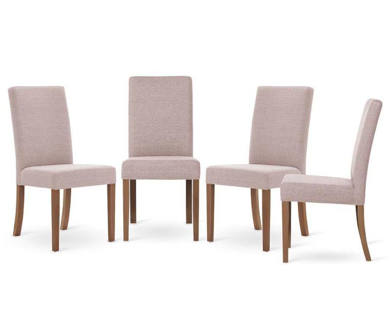 Set 4 scaune Tonka Brown Powder