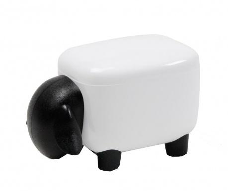 Suport pentru accesorii de birou Sheepshape White and Black