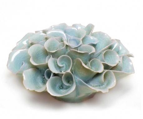 Decoratiune Flower Light Blue