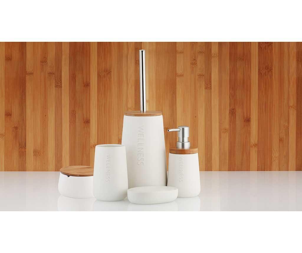 Toaletna četka sa držačem Bastian White