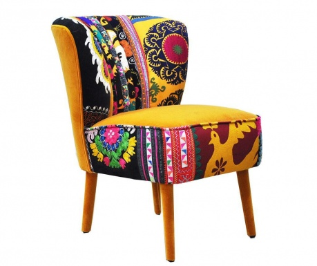 Clubchair Yellow Love Fotel