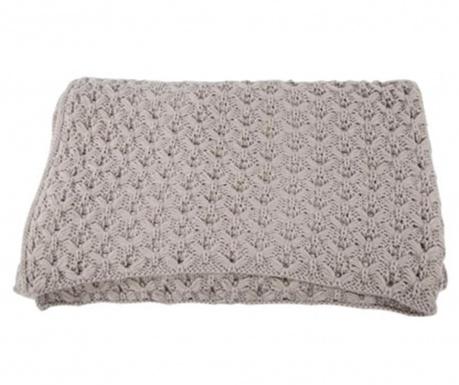 Priročna odeja Knittwork Grey 150x170 cm