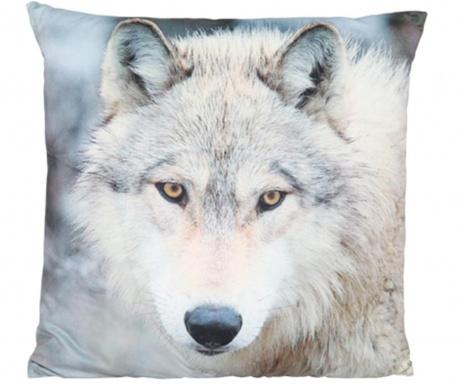 Okrasna blazina Print Wolf 45x45 cm