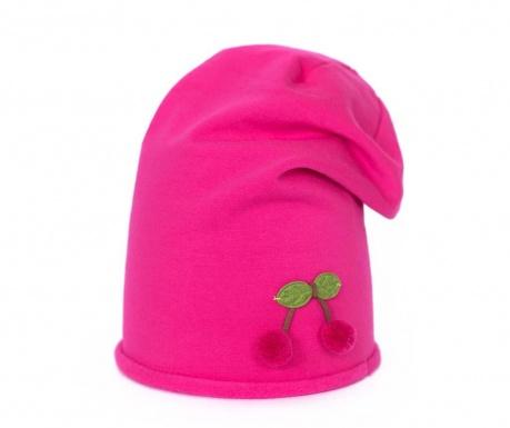 Czapka damska Cherry Pink 52 cm