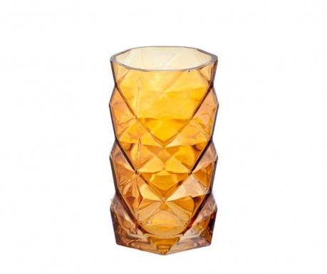 Geometric Cognac Gyertyatartó
