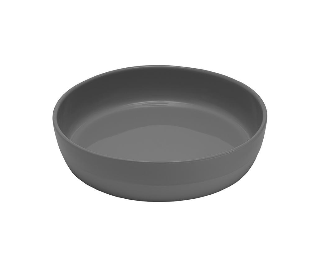 Dipped Round Grey Sütőedény S