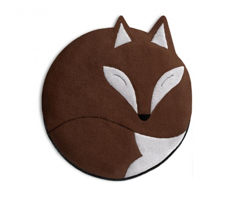 Grelna blazina Luca The Fox Chocolate 25 cm