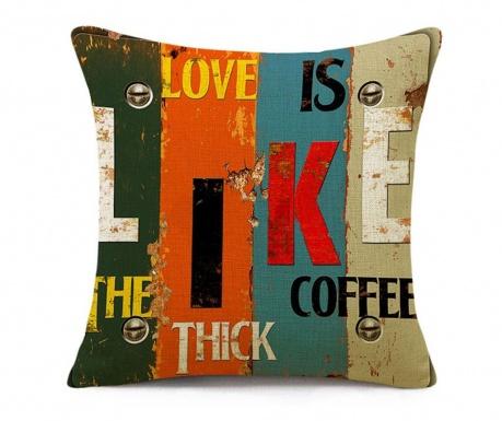 Калъфка за възглавница Love Like Coffee 45x45 см