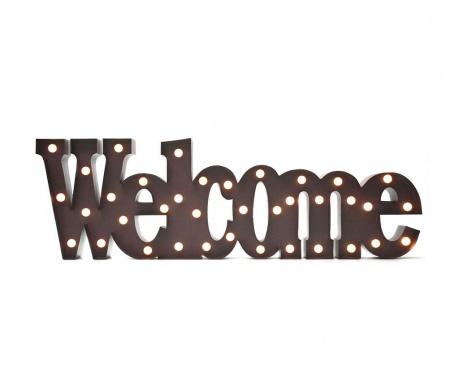 Светеща стенна декорация Welcome