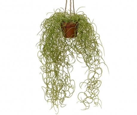 Umjetna biljka u visećoj posudi za cvijeće Carine