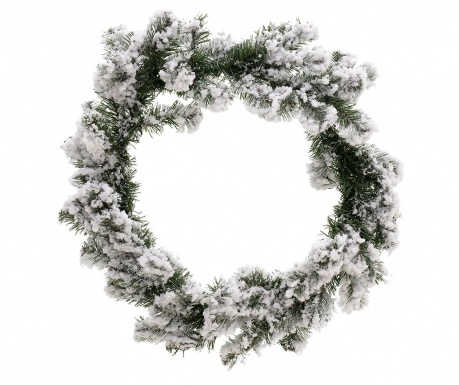 Decoratiune Frosted Wreath
