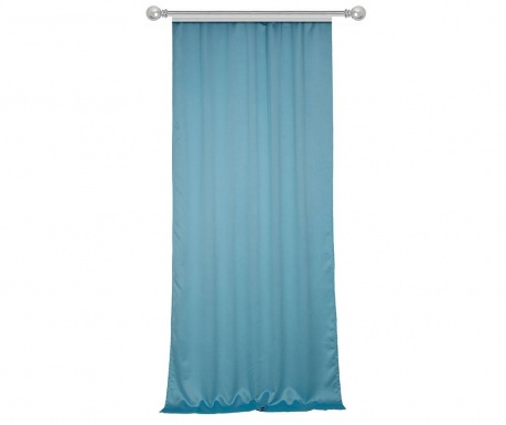 Draperie Plain Light Blue