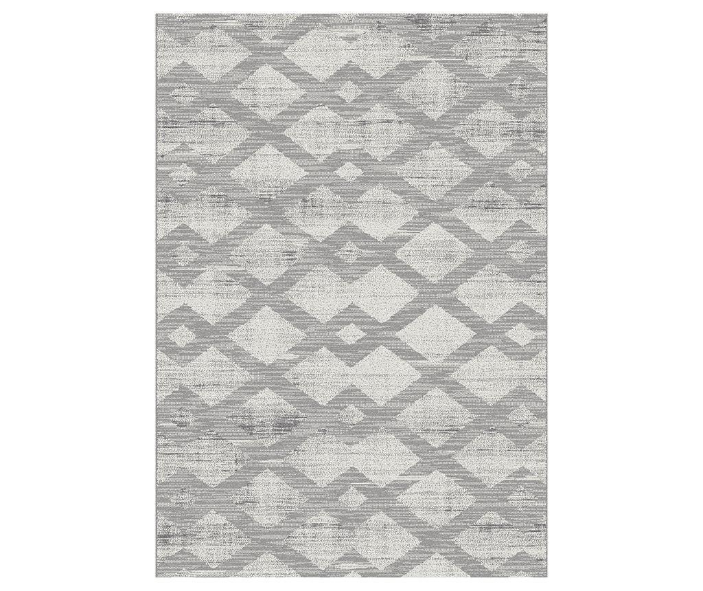 Covor Adra Grey 133x190 Cm - Universal Xxi, Gri & Argintiu
