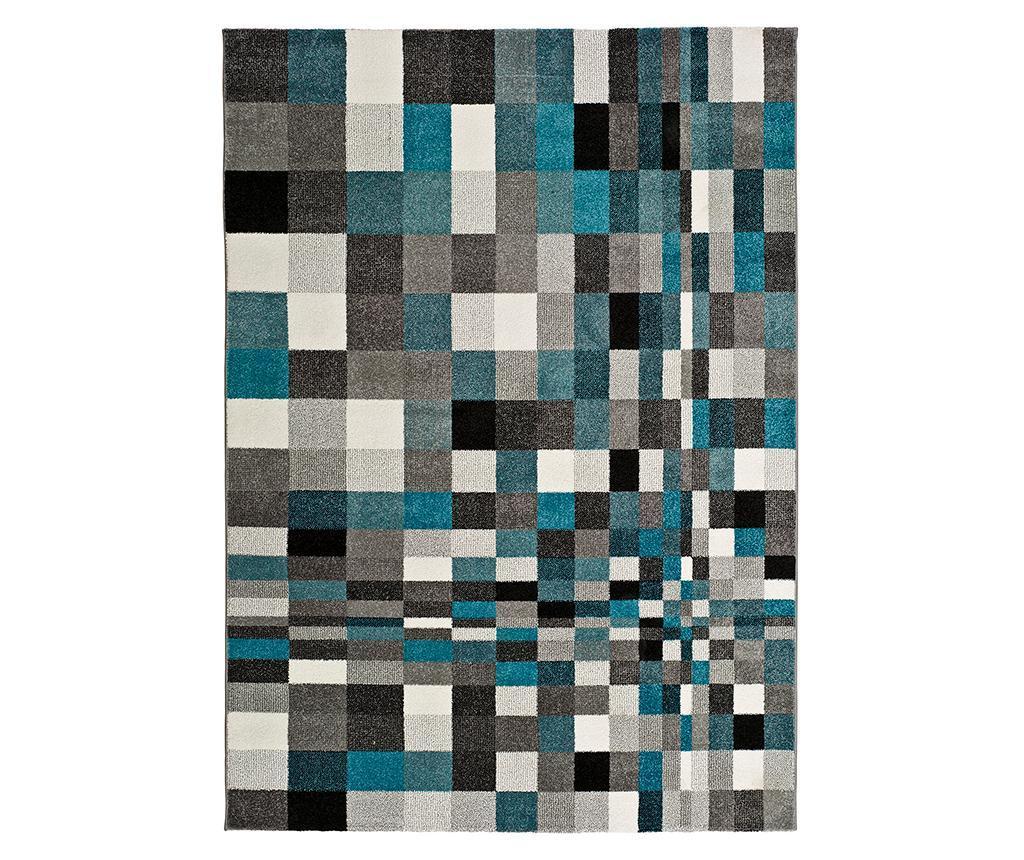 Covor Laia Blue 140x200 cm - Universal XXI, Albastru