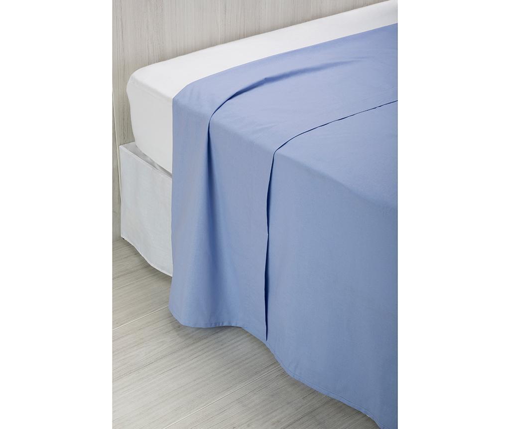Cearsaf de pat Percale Quality Light Blue 240x260 cm - Pikolin, Albastru