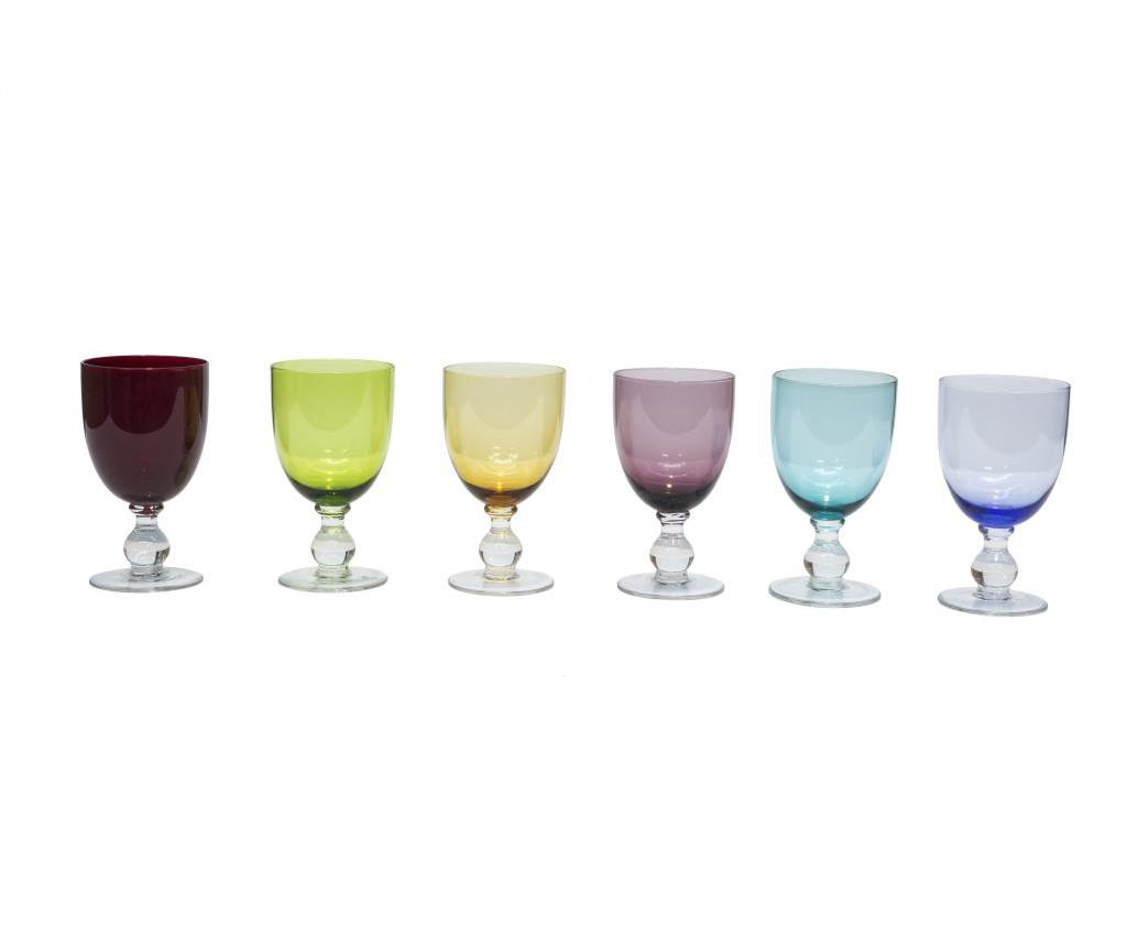 Set 6 pahare pentru vin Alicudi - Novita Home imagine 2021