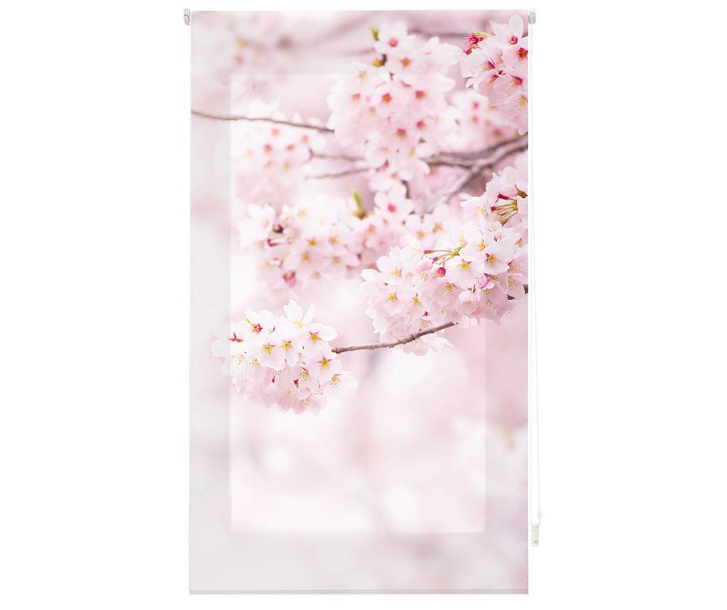 Jaluzea tip rulou Cherry Blossom 100x180 cm - Blindecor, Roz