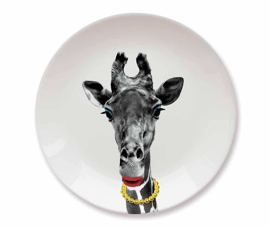 Farfurie intinsa Giraffe