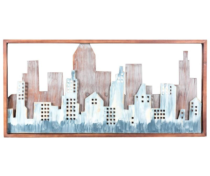 Decoratiune de perete City Art