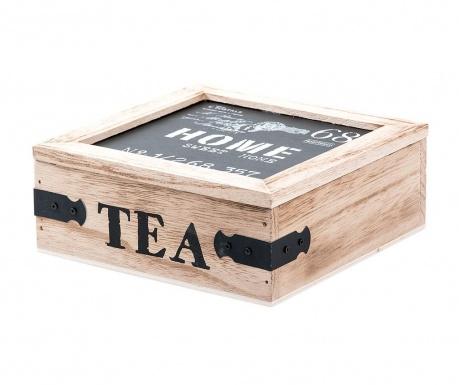 Krabice s víkem na čaj Sweet Home