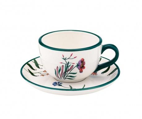 Sada šálek s podšálkem Blume