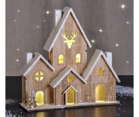 Dekoracja świetlna House Snow
