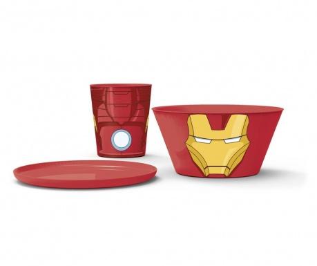 Iron Man 3 darabos Étkészlet