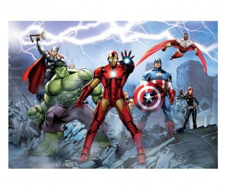 Avengers Assemble Tapéta 254x360 cm