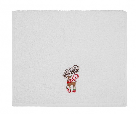 Kupaonski ručnik Christmas Reindeer 30x50 cm