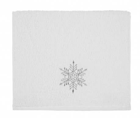Ręcznik kąpielowy Feast Snowflake 30x50 cm