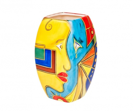 Wazon Face Cube Small