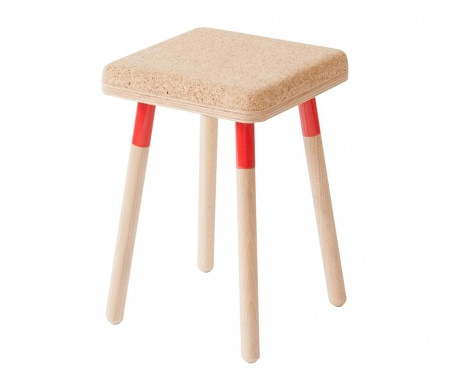 Židlička Marco Red
