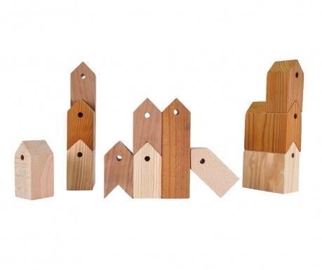 Set 12 decoratiuni 11+1 Houses